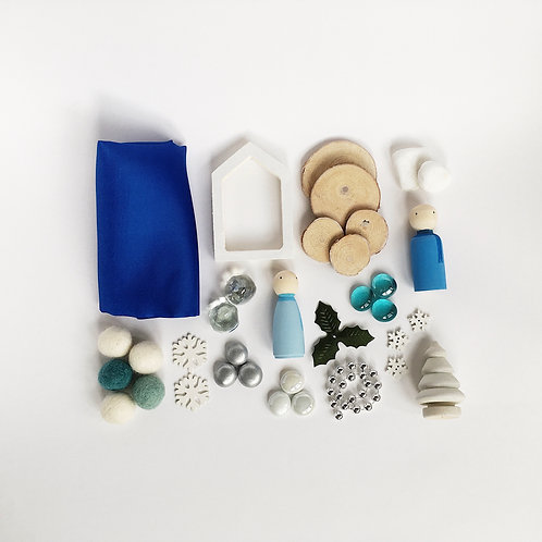 Winter Themed Loose Parts Collection