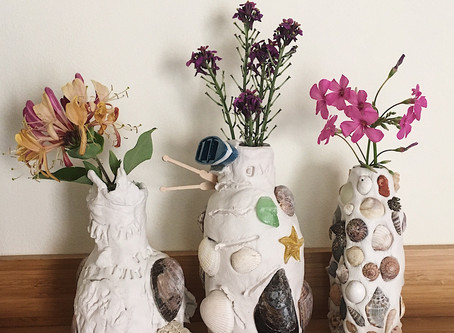 Clay & Shell Vase Tutorial