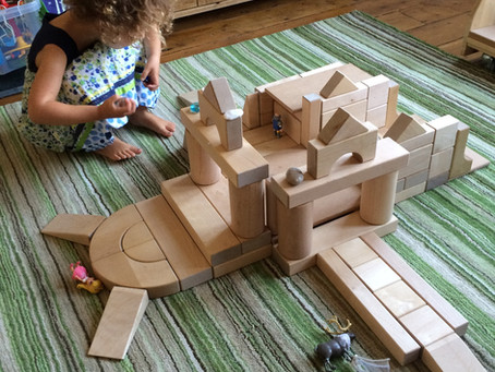 Our Favourite Open-Ended Toys: Natural Building Blocks.