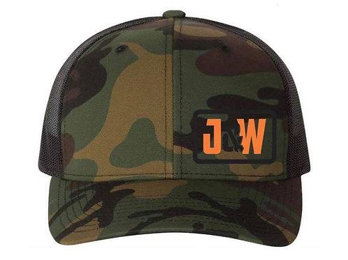Camo Snap Back Trucker's Hat