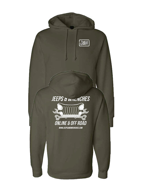 (PREORDER) Army Green Heavyweight Pullover Hoodie