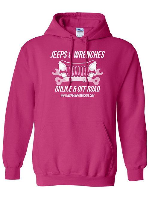 J&W Pink Hoodie