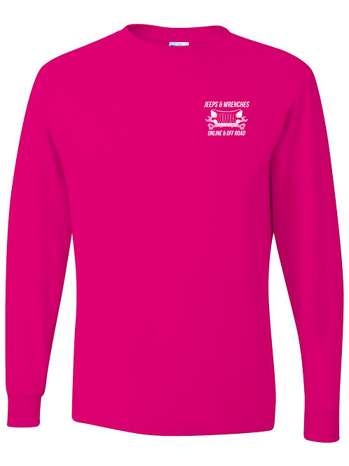 J&W Pink Long Sleeve T-Shirt