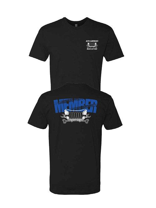 Member Shirts (Royal blue letters)
