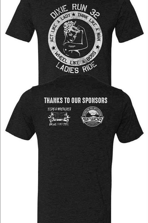 Dixie Run 32 Ladies Ride T-Shirt