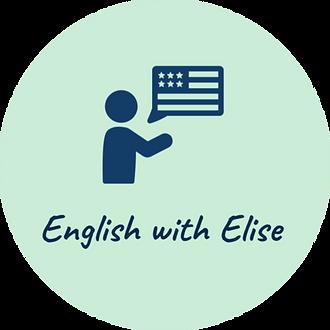 English with Elise logo