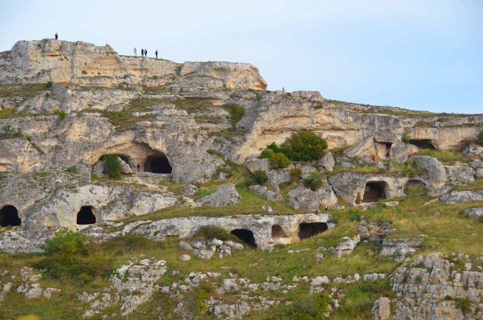 The caves of Matera