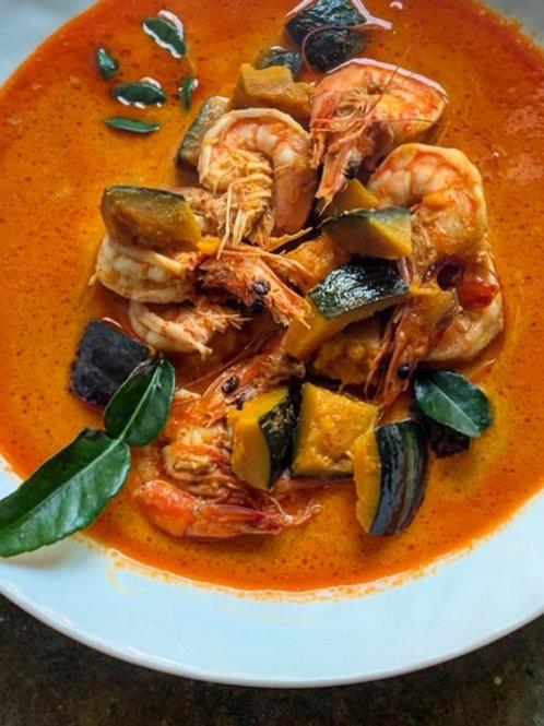 Shrimp Pumpkin Massaman Curry (Pint)