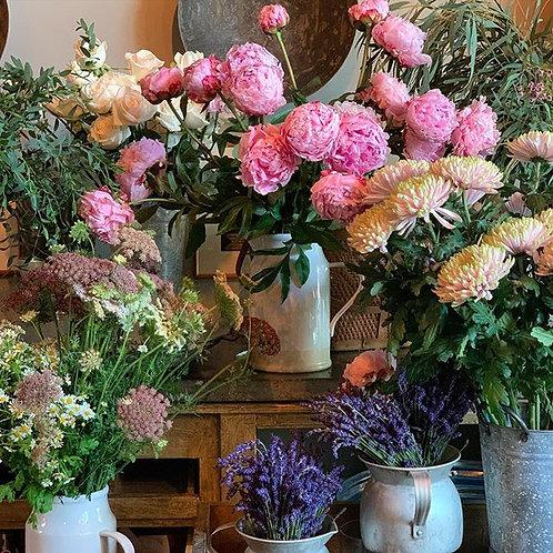 Asha's Assorted Floral Arrangement