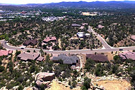 Home For Sale Prescott Arizona Bloom Tree Realty Aerial Photography Prescott, AZ McQuality Designs & Services, LLC 707-616-7884.