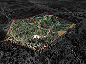 76 Acres Las Vegas Ranch Land For Sale Bloomtree Realty Aerial Photography Prescott AZ 707-616-7884