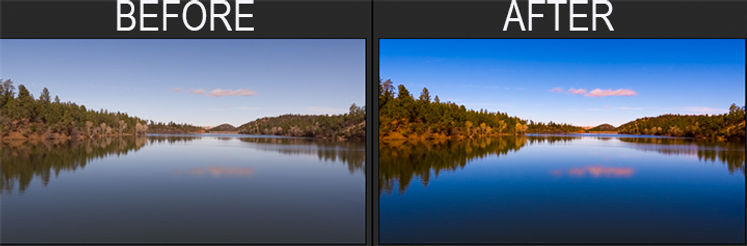 Before and After effects Aerial Photography Prescott, AZ