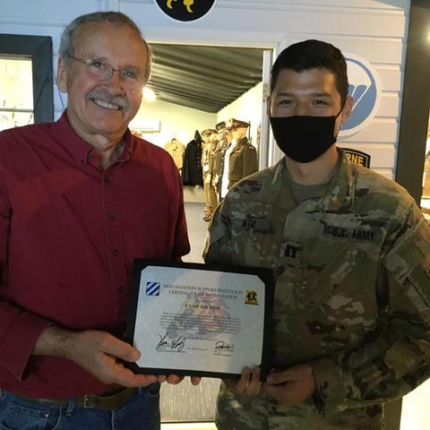 603D Aviation Support Battalion visit