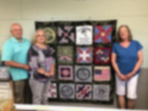 CTaC quilt winners  Paul n Vaneta Kirsh-