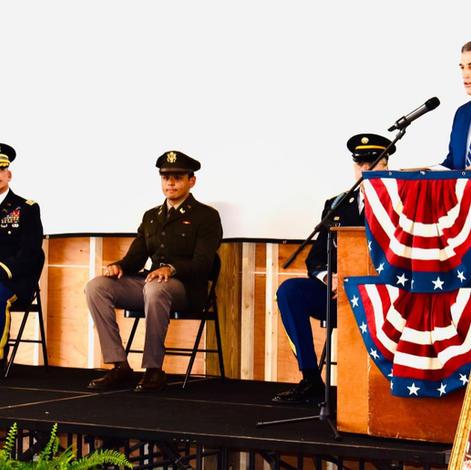 US Congressman Clyde speaks at CTaC ceremony Jun 12 2021.
