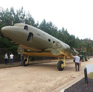 C47 being moved to parking lot.jpg