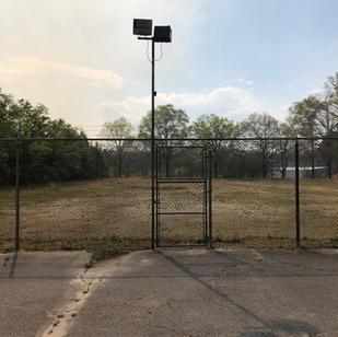 CTaC Walk thru gate between the two park