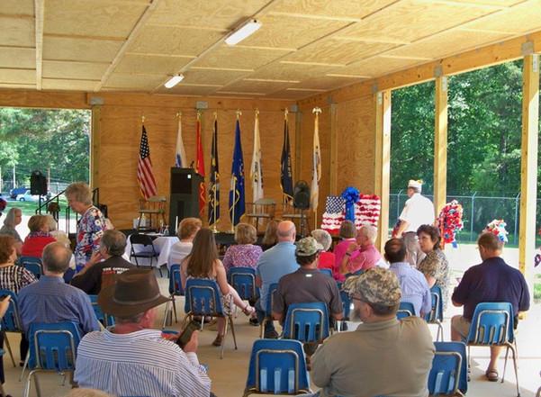 Memorial Day Ceremony CTaC pavilion.JPG