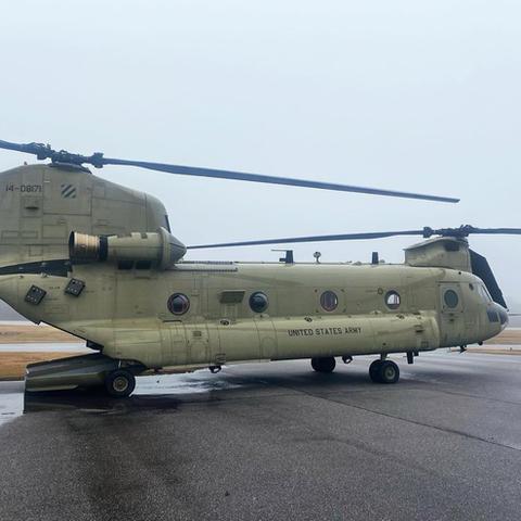 603D CH47 Chinook at Toccoa AP