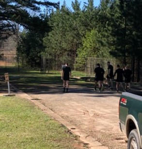 75th Ranger forward team making a quick run up Currahee Mar 2021-1.