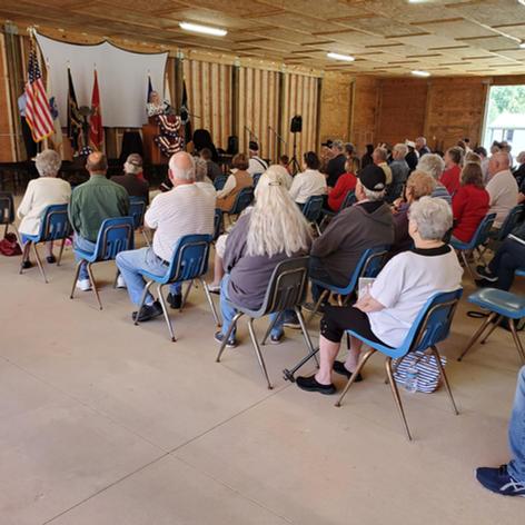 May 31 2021 Memorial Day service at CTaC.