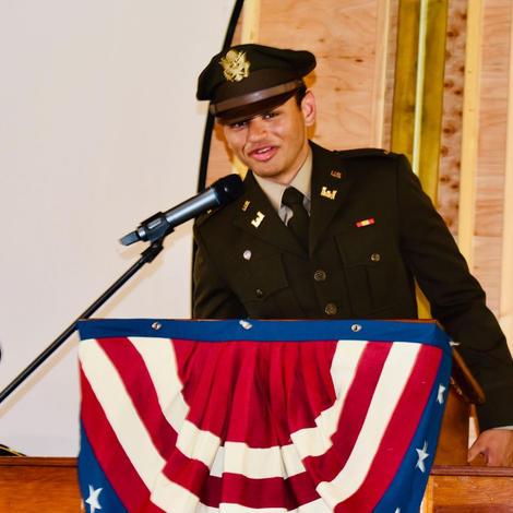Lt Nikhil Patel speech at CTaC pavilion ceremony Jun 12 2021.
