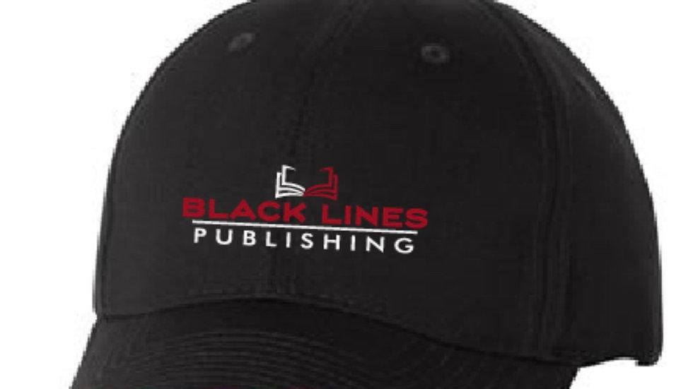 Embroiled Black Lines Publishing Cap