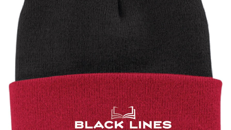 Black Lines Publishing Beanies