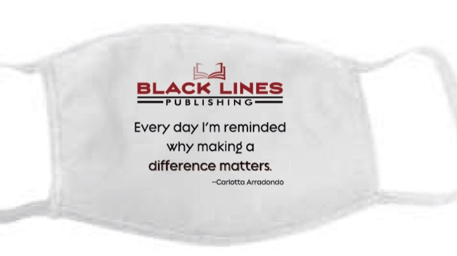 Black Lines Publishing Mask