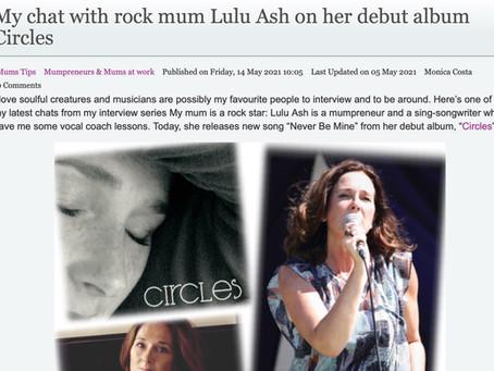 "Chatting to Monica Costa of ""London Mums"" Magazine"