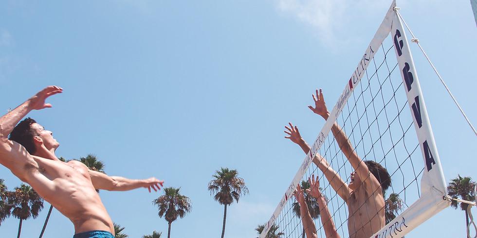 CoRec Delta Chi volleyball