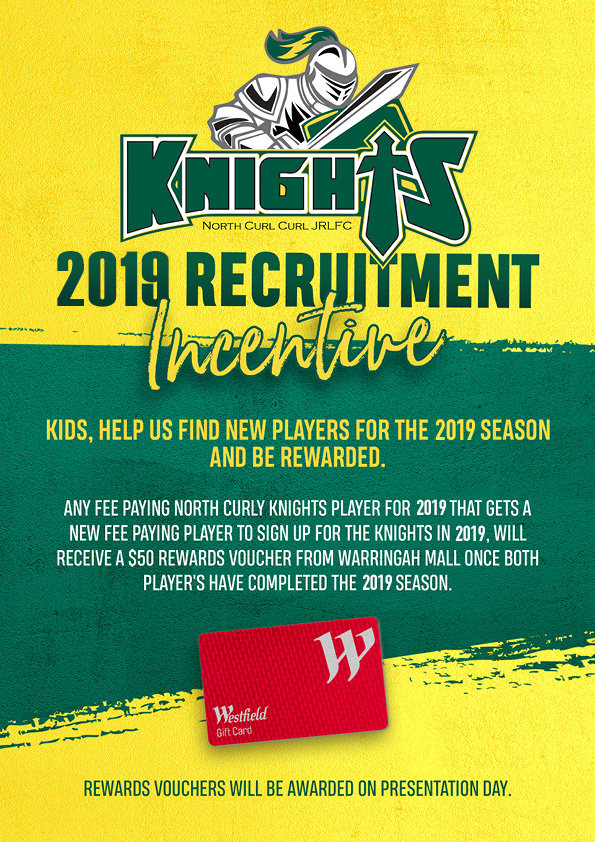Reruitment Promo North-Curl-Curl-Knights