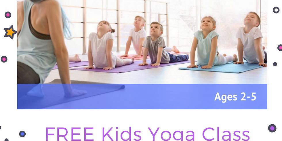 FREE Kids Yoga Event!