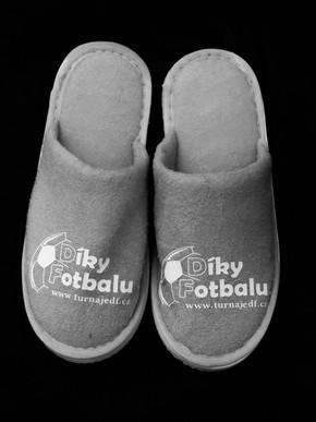 Pantofle - šedé