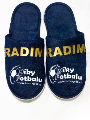 Pantofle - modré