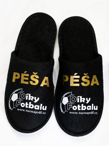 Pantofle - černé