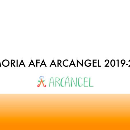 Memoria AFA Curso 2019-2020