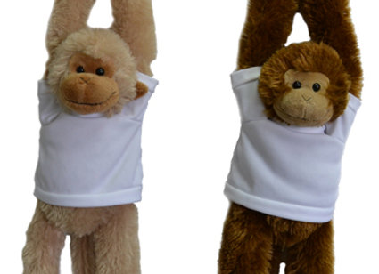 קוף חיבוקי להדפסה