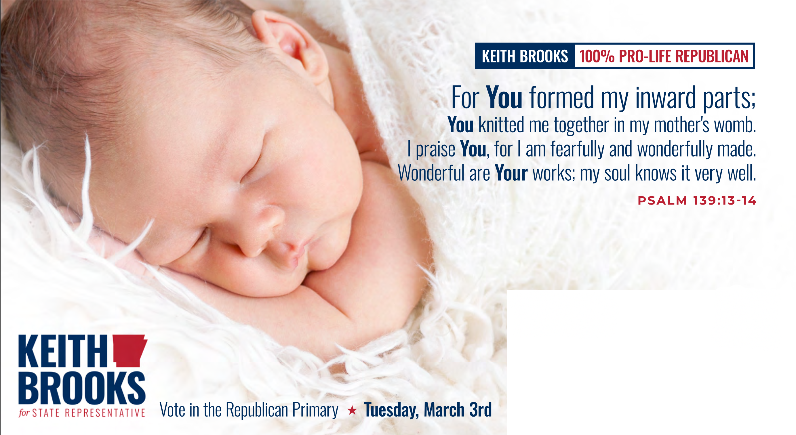 Pro-Life - Keith Brooks for State Rep