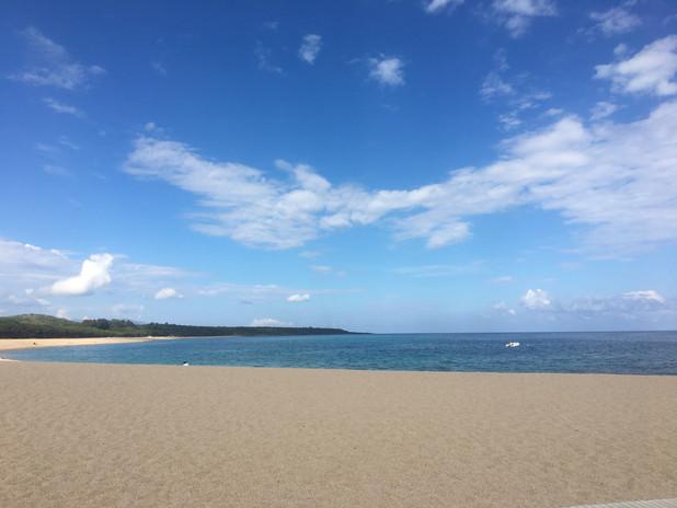 Strand soweit das Auge reicht...