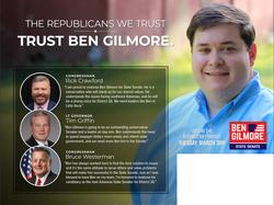 Endorsements - Ben Gilmore for State Senate