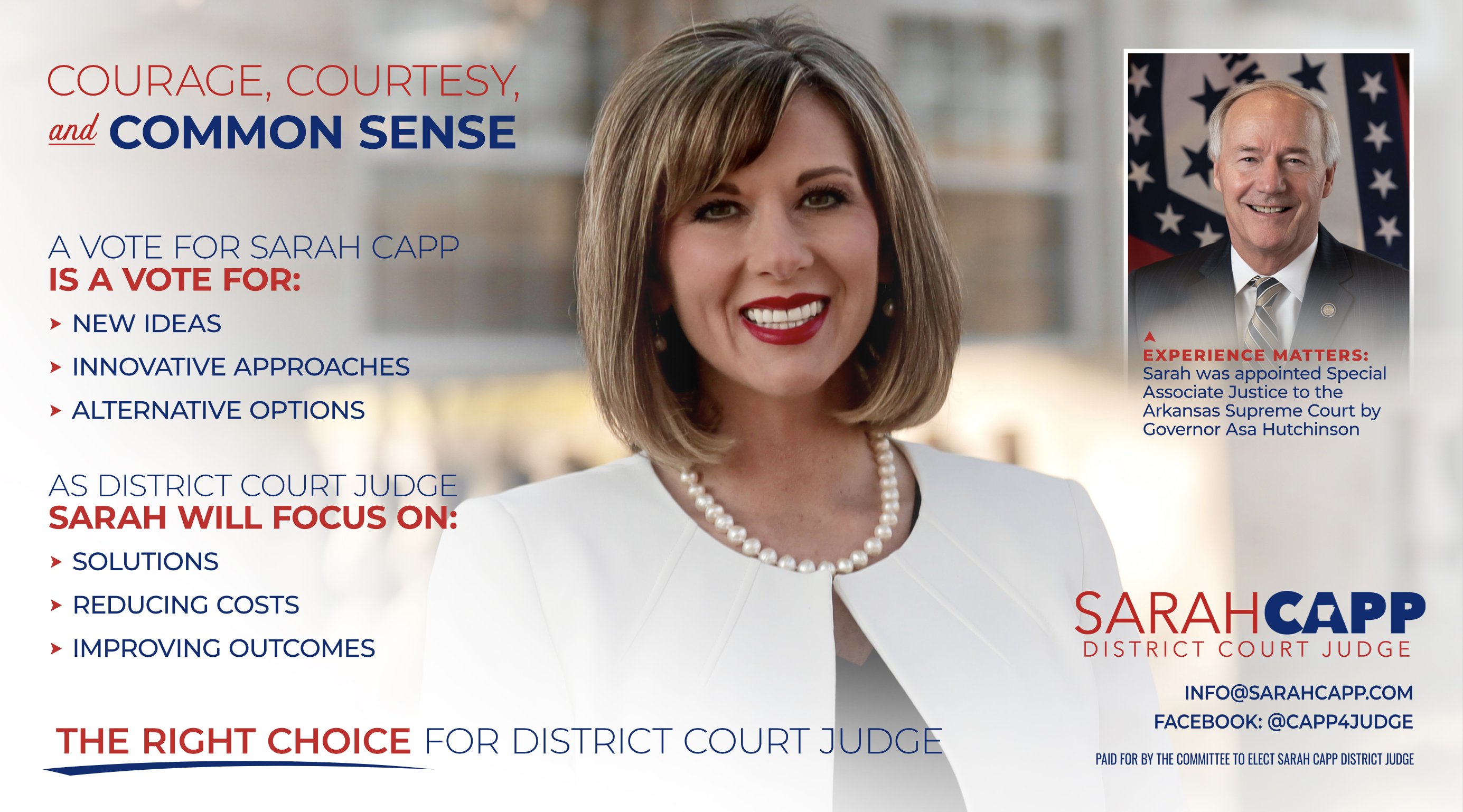 Sarah Capp for District Court