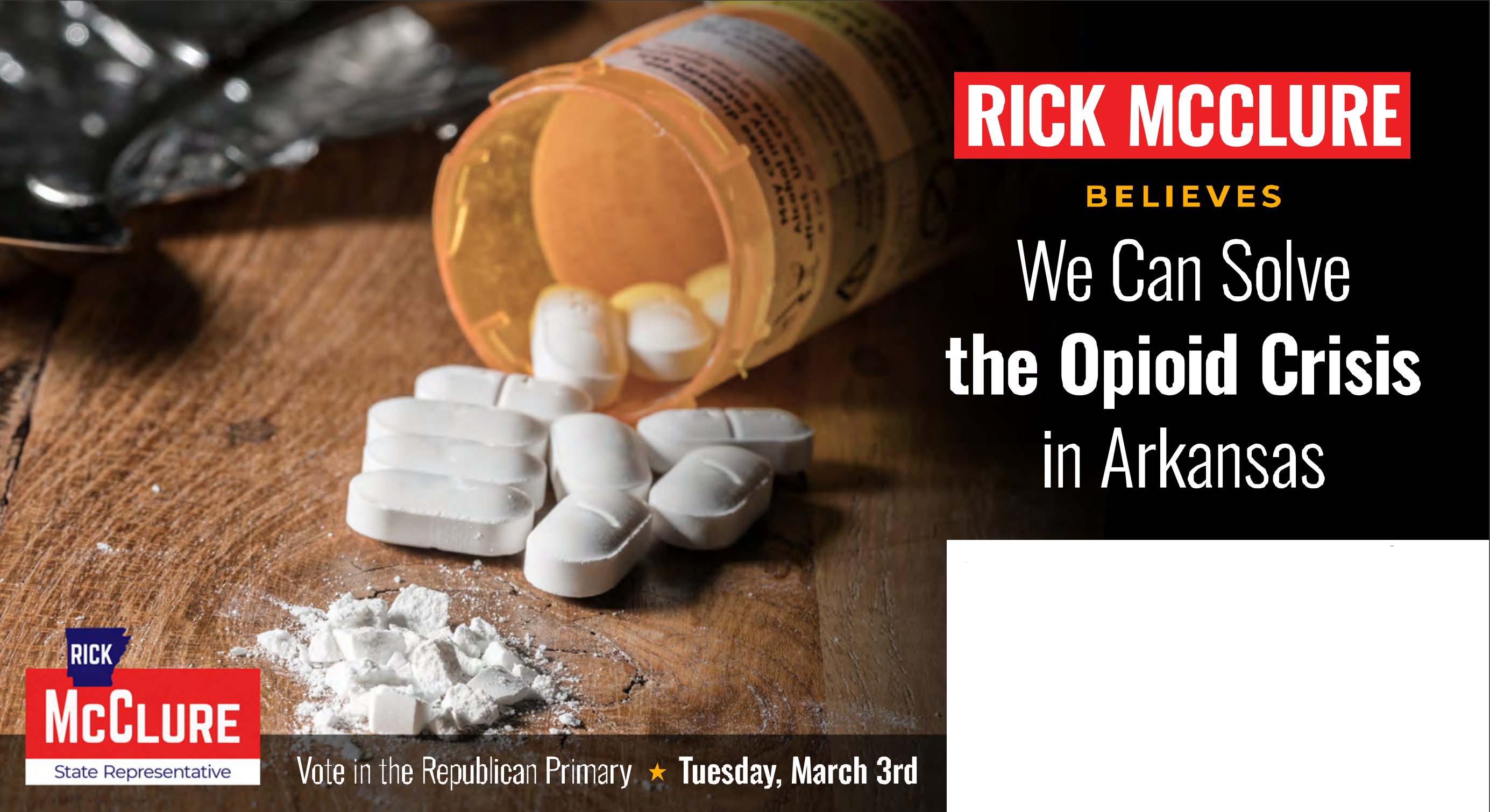 Opioids - Rick McClure for State Rep