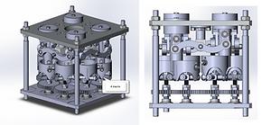 Опытный образец запатентованного устройства отбора мощности от ДВС