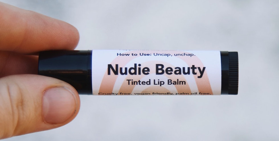 Tinted Lip Balm (Mint & Vanilla)