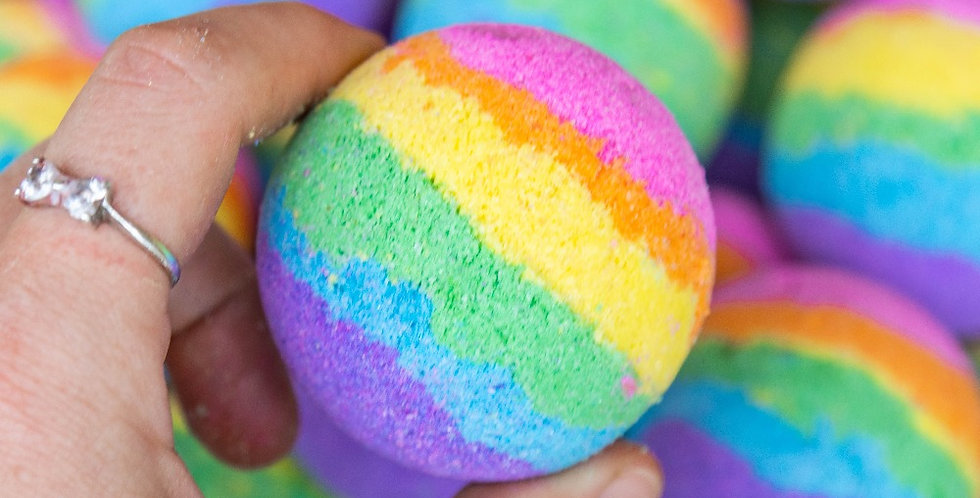 Rainbow Magic Bath Bomb