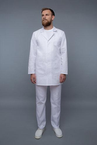 Vyriškas chalatas medicinos medicininiai rūbai