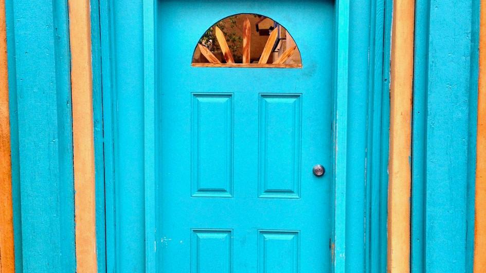 Taos Doorway