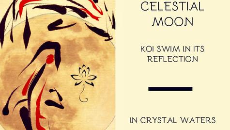 Celestial Koi Haiku