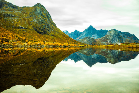 Reflection - Lofoten - Norway